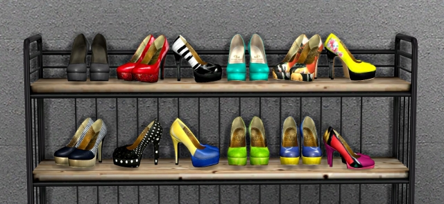 TS2 Decorative Shoes от Leo4Sims