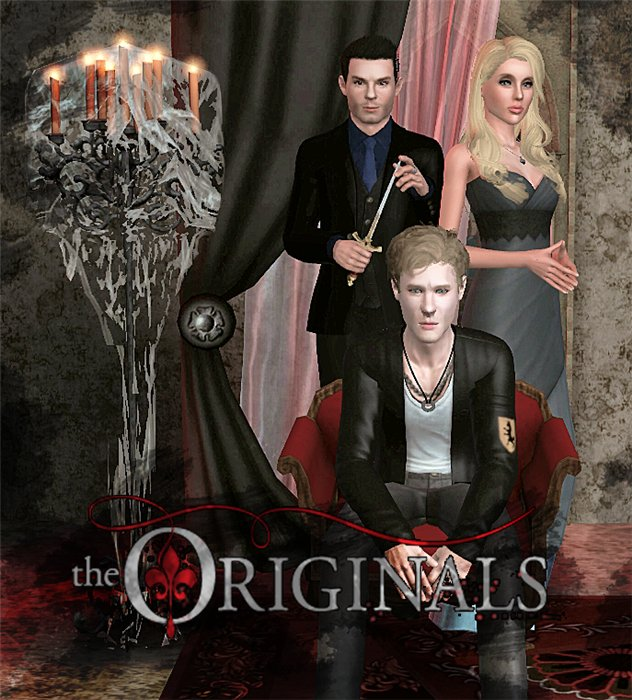 Niklaus Mikaelson, Elijah Mikaelson and Rebekah Mikaelson от Wolfguk