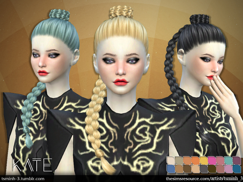 Kate  Hairstyle 7 by  tsminh_3
