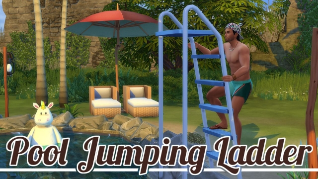 Pool Jumping Ladder от JoolsSimming
