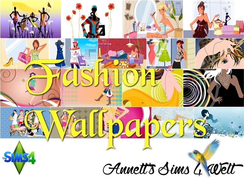 Fashion Wallpaper by Annett85
