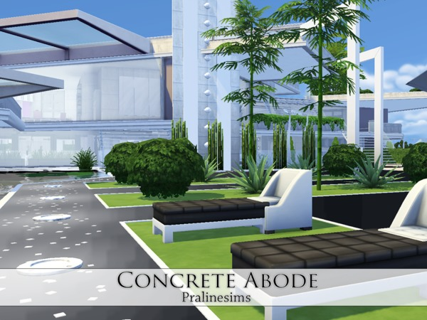 Concrete Abode by Pralinesims