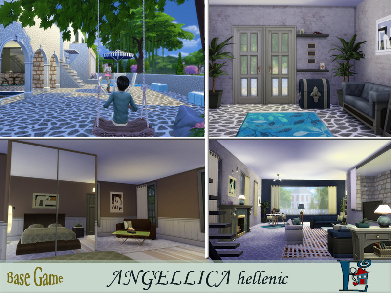 Angellica Hellenic Greek by evi