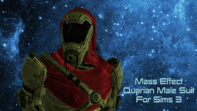 Mass effect quarian male suit by collapsingsequence