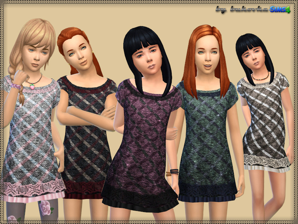 Dress Tweed Cell by bukovka