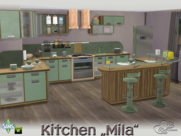 Kitchen Mila by BuffSumm