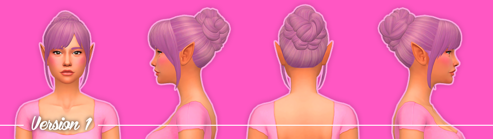 Vivian Hair - 2 Styles by NolanSims