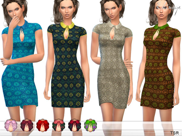 Crochet Sheath Dress by ekinege