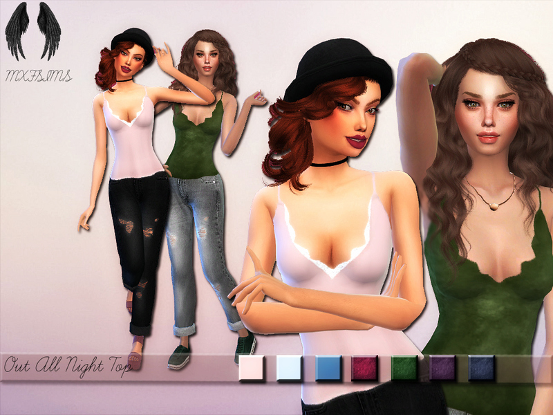 Out All Night Top by mxfsims