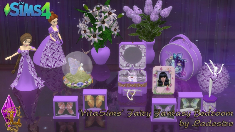 VitaSims' Fairy Fantasy Bedroom by Ladesire