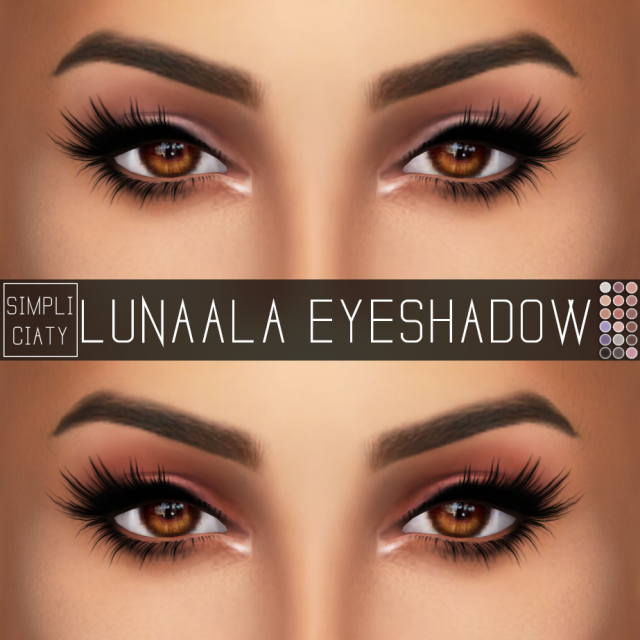 LUNAALA EYESHADOW by simpliciaty
