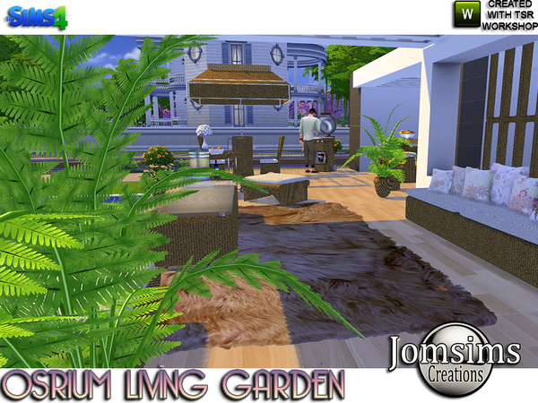 Osrium living garden by jomsims