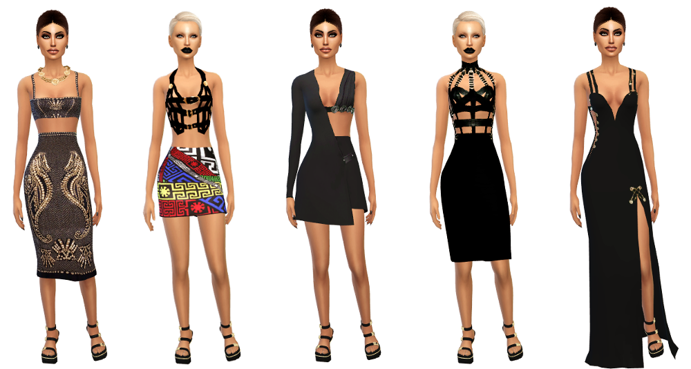 Versace Icons Collection by SimsBoutique