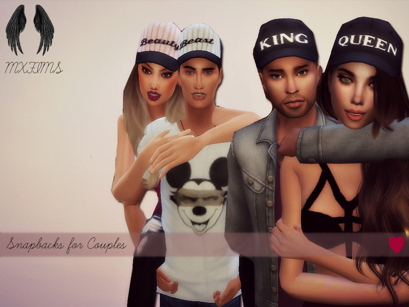 Snapbacks for Couples by mxfsims