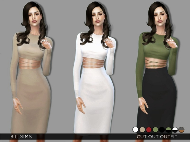 Cut Out Outfit by Bill Sims