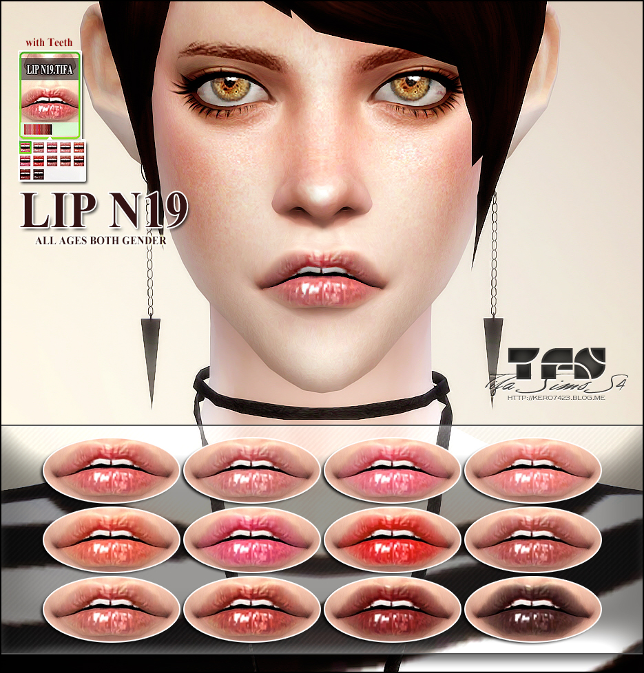 Lip N19_MF by Tifa