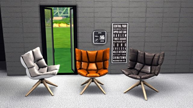 TS3 Husk Armchair Conversion by Leo-Sims
