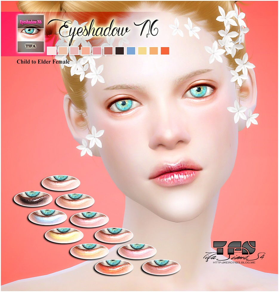 Eyeshadow N6_F by Tifa