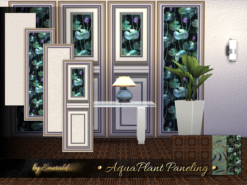 AquaPlant Paneling by emerald