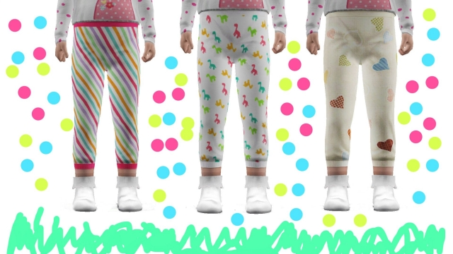 Cute Toddler Leggings by Alessa-Alessa