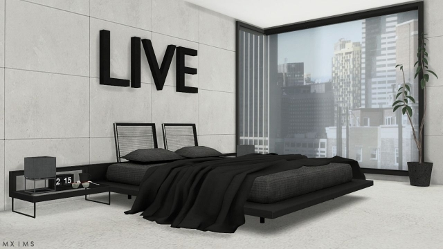 Stylish Modern Bedroom Set от MXIMS
