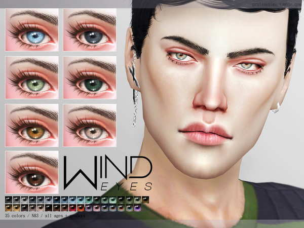 Wind Eyes N83 by Pralinesims