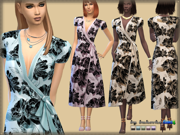Wrap Dress by bukovka