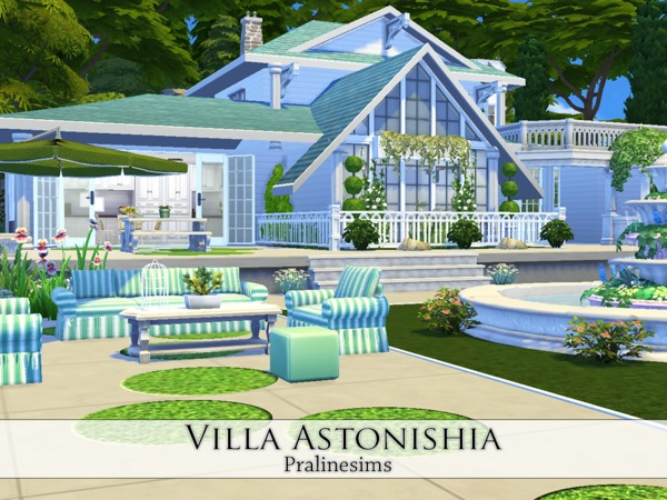 Villa Astonishia by Pralinesims