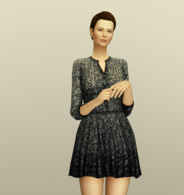 Pattern Dress by Maje (4 color) by Rusty Nail