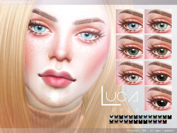 Luca Eyes N84 by Pralinesims