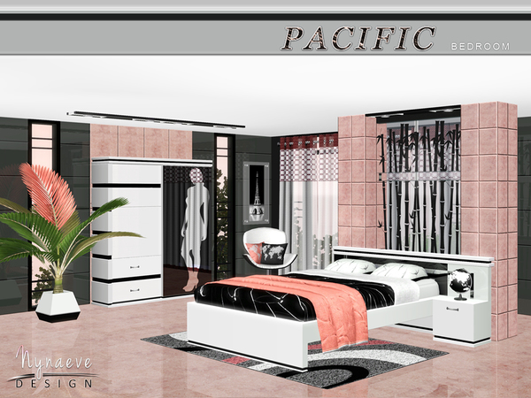 Pacific Heights Bedroom by NynaeveDesign