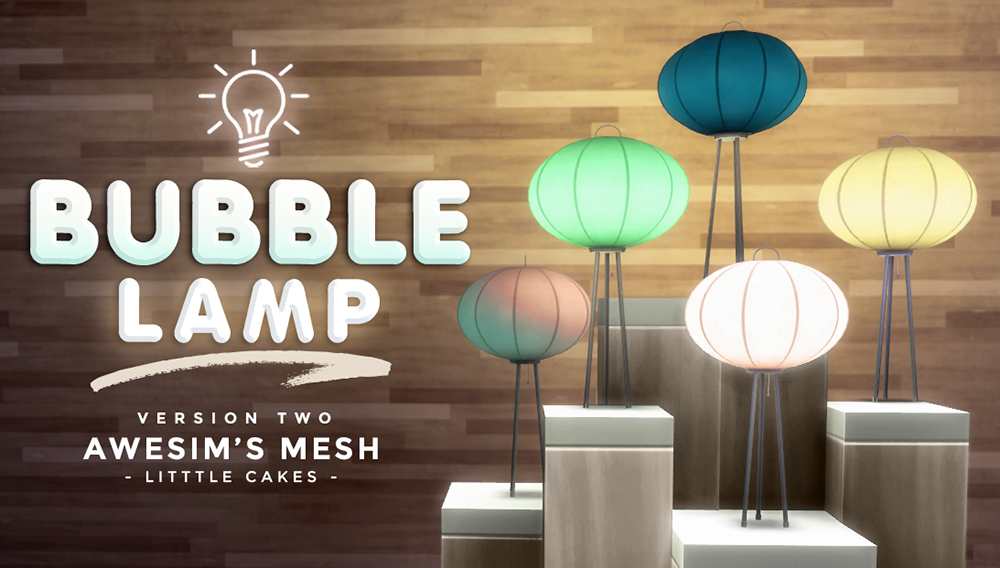 Bubble Lamp by LittleCakes