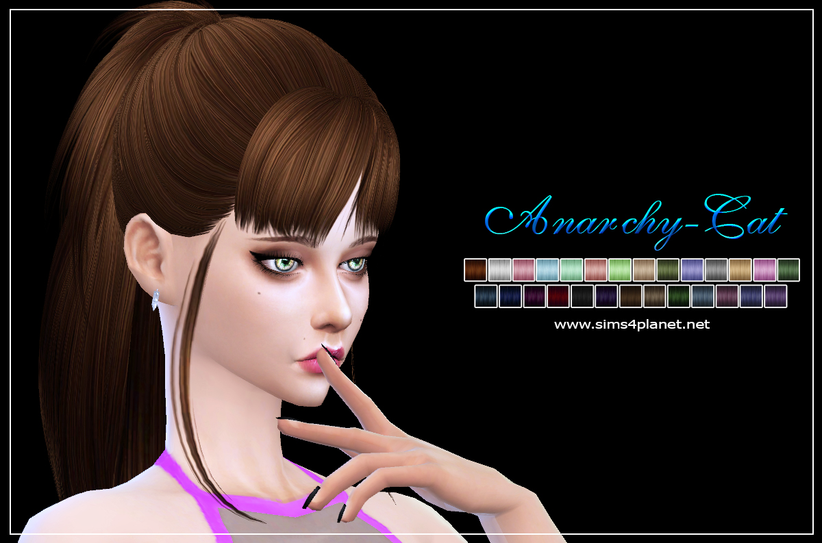 Skysims Hair 217 Aimee by Anarchy-Cat
