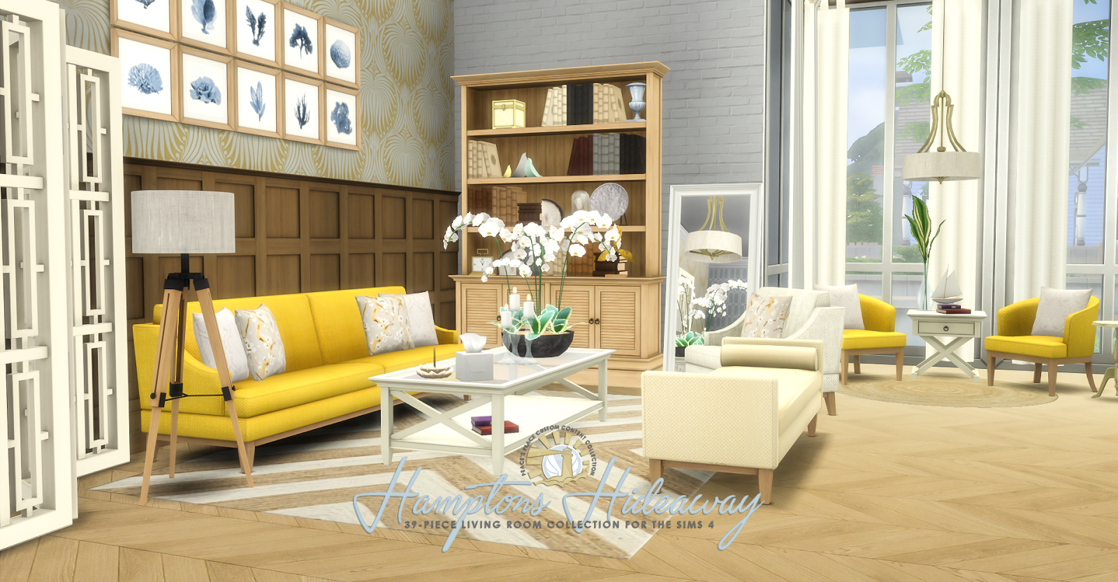Hampton Hideaway Living Room Set by Peacemaker ic