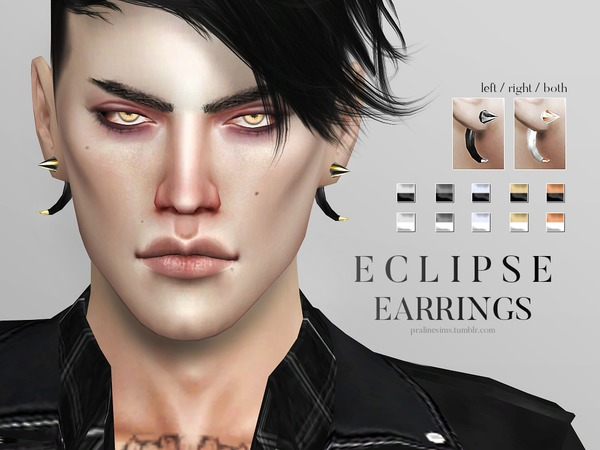 Eclipse Earrings by Pralinesims