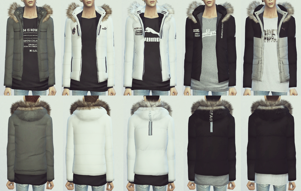 KK Fur Hood Jumper 10Set by ooobsooo