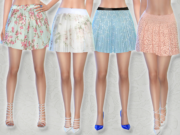 PZC_Spring Skirt Set by Pinkzombiecupcakes