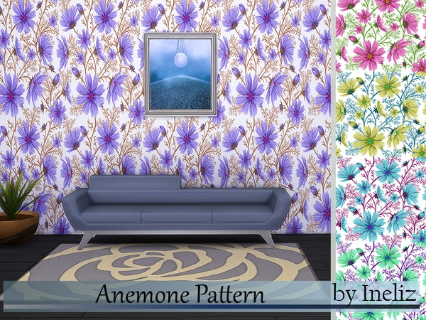 Anemone Pattern by Ineliz