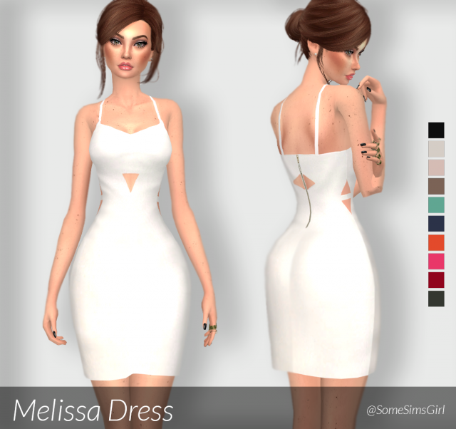 Melissa Dress by SomeSimsGirl