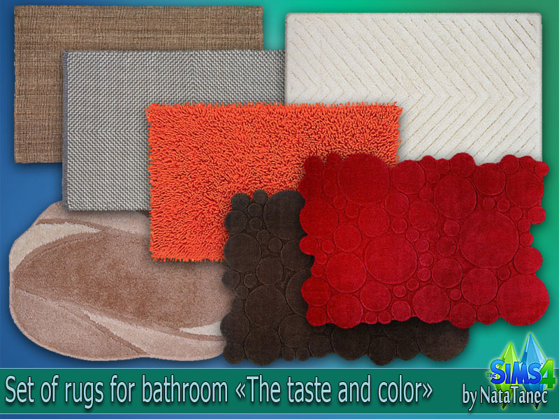 Set of rugs The taste and color by Natatanec