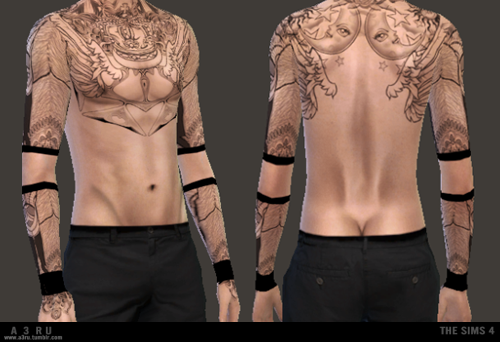 Forge Tattoos for Males and Females by A3ru