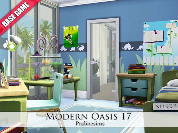 Modern Oasis 17 by Pralinesims
