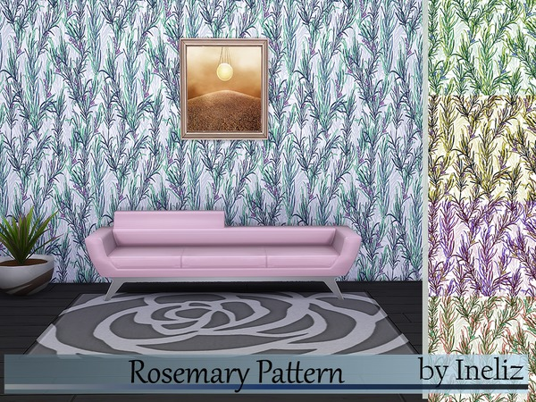 Rosemary Pattern by Ineliz
