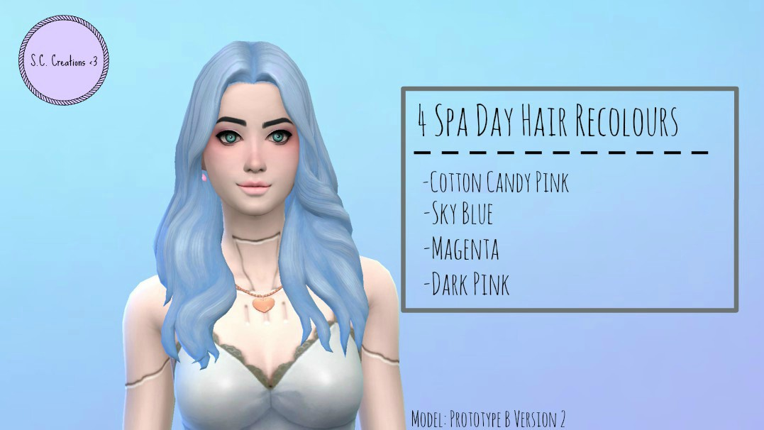 Spa Day Hair Recolours by SouperCooky