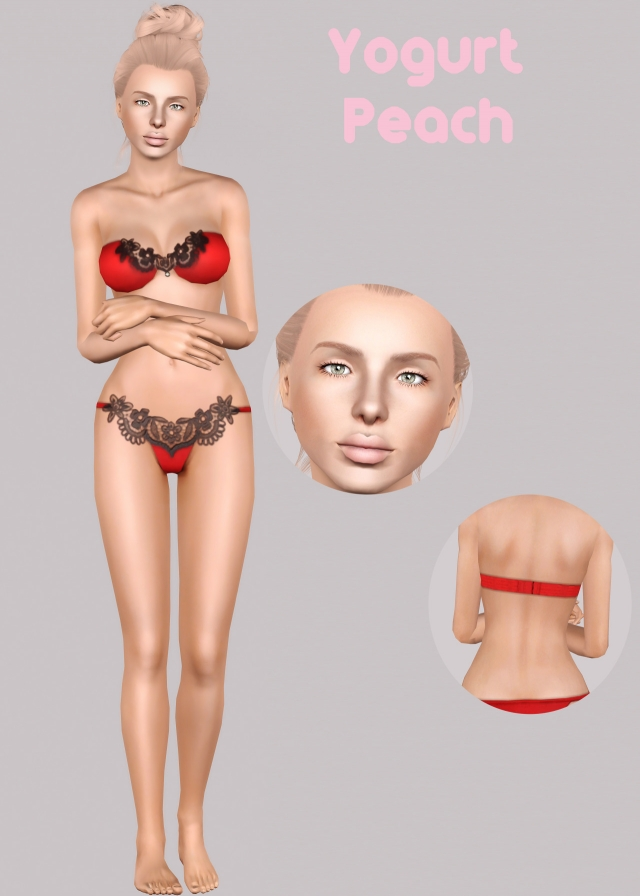 Yogurt Peach Skinblend (Non Default) by TrashyGames