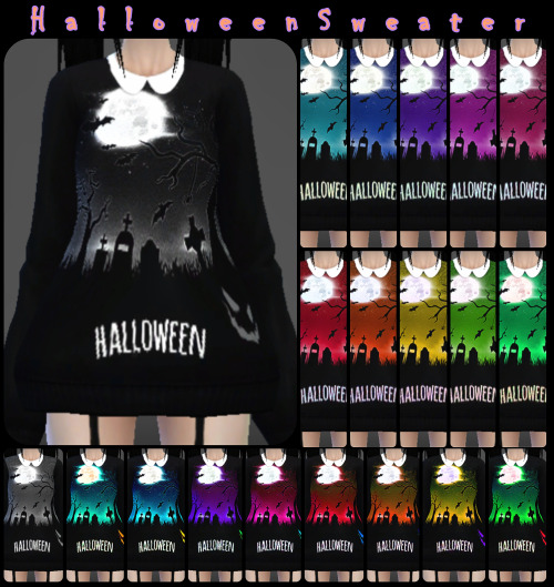 Halloween Sweater by DecayClown