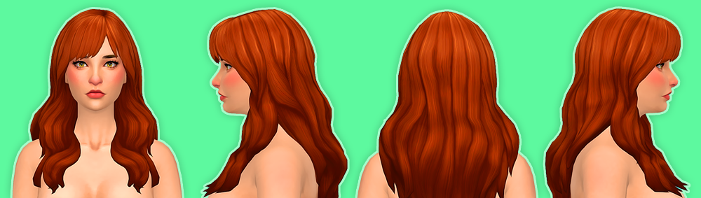 Florence Hair for Females by NolanSims