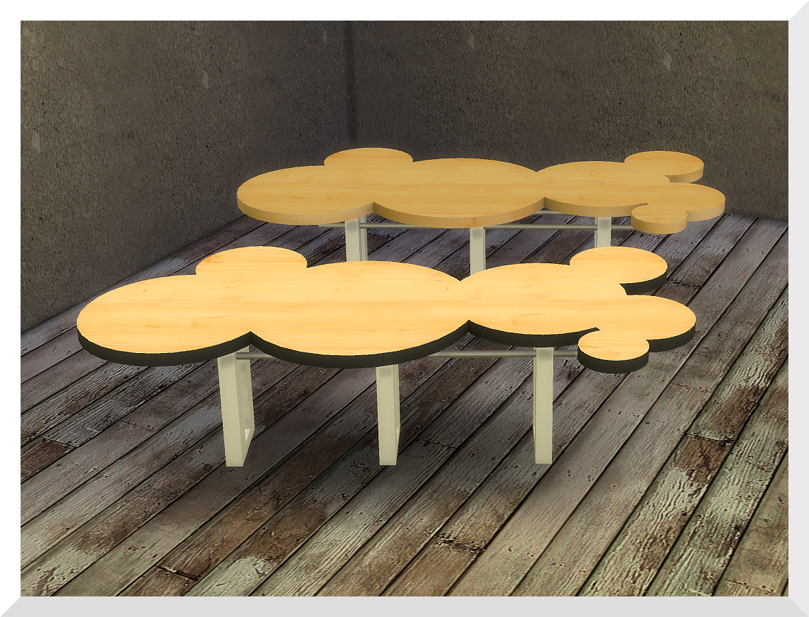 The Bubbles Coffee - and End Table by KSimbleton