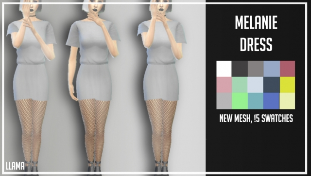 MELANIE DRESS by LLAMA
