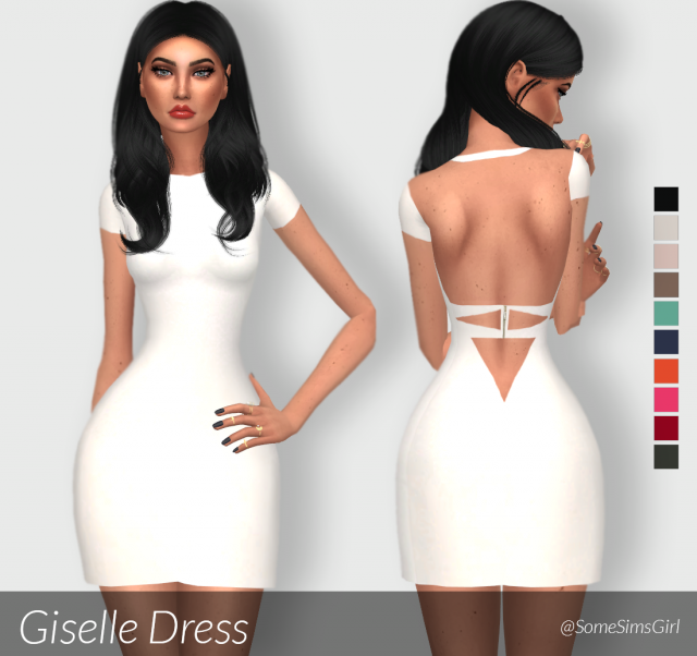 Giselle Dress by SomeSimsGirl